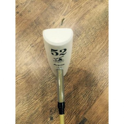 "George Wood Fibre Cane ""Intermediate Head"" Arena Polo Mallets"