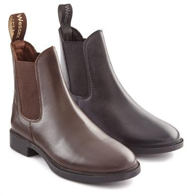 Wessex Leather Jodhpur Boots - Adults
