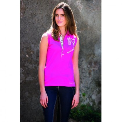 Horseware Flamboro Sleeveless Polo SALE