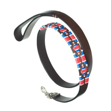 "Pampeano - Leather Dog Lead ""GB"""