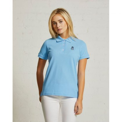 Hurlingham Polo 1875 Women's Classic Fit Sports Polo
