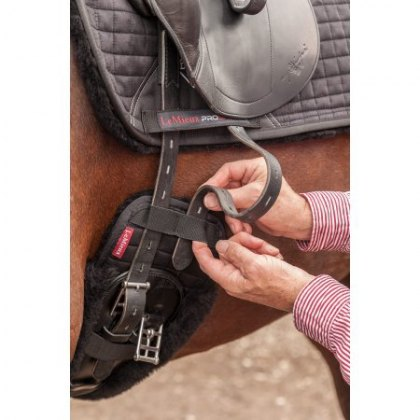 Le Mieux Merino Shaped Dressage Girth Cover