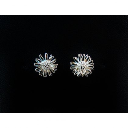 Charms UK Silver Gp Flower Earrings
