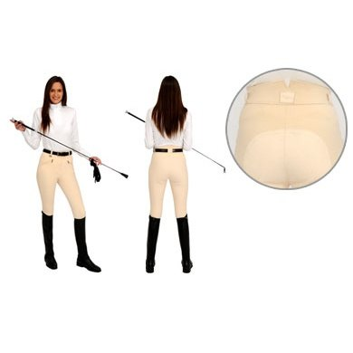 Rugged W2 Ladies Off White Breeches