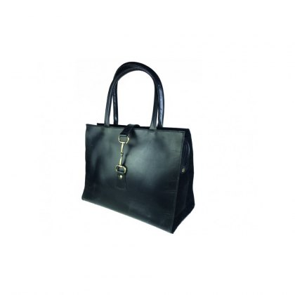 Grays Equestrian Alice Bag Leather & Suede