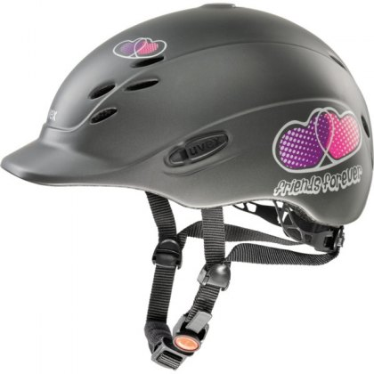 Uvex Onyxx Junior Riding Helmet Friends Anthracite