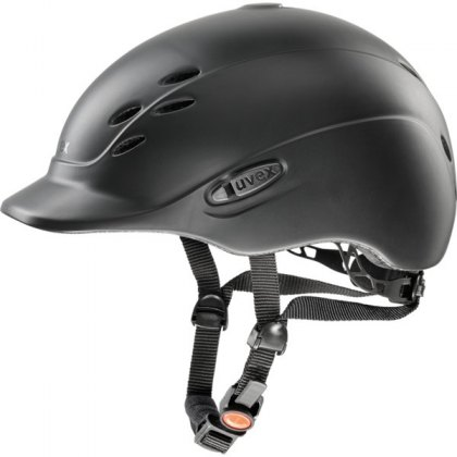 Uvex Onyxx Junior Riding Helmet Black Mat