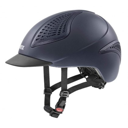 Uvex Exxential Riding Helmet Blue Mat
