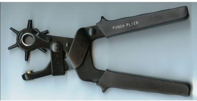 Deluxe Leather Hole Punch