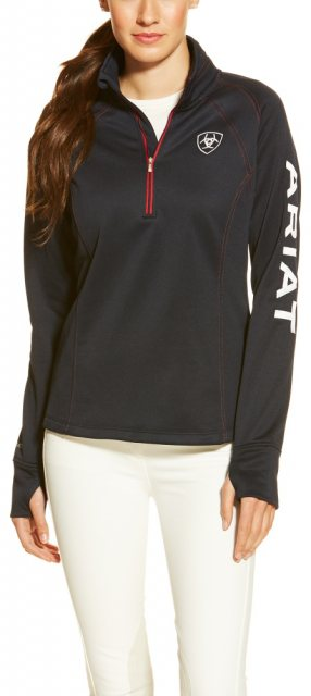Ariat Women's Tek Team Quarter Zip Top