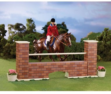 Breyer Brick Wall Jump