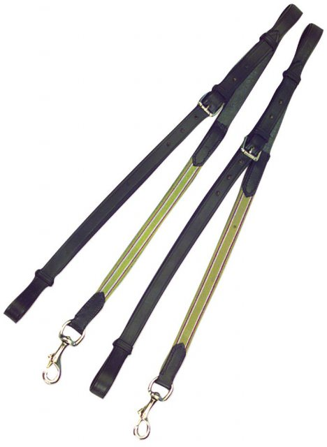 Kincade Elastic / Leather Side Reins