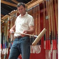 George Wood Cane Polo Mallet