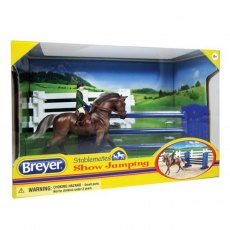 Breyer Stablemates Show Jumping
