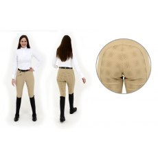 Rugged Horse Ladies Beige Breeches EG1