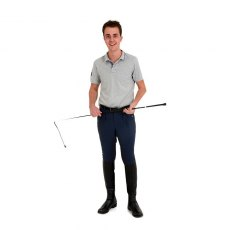 Rugged Horse Men's Blue Breeches M4