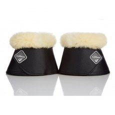 Le Mieux Lambskin Wrap Round Over Reach Boots