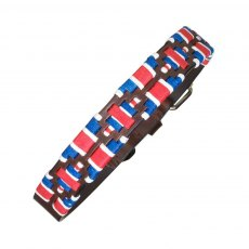 "Pampeano - Leather Dog Collar ""GB"""