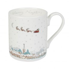 Sophie Allport Starry Night Village Scene Mug