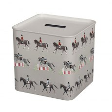 Sophie Allport Horses Money Box Tin