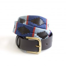 KM Elite Porterhouse Blue Polo Belt