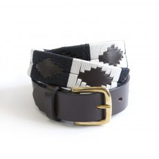 KM Elite Ebony Polo Belt