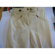 Rugged Horse Ladies Off White Breeches W1 SALE!