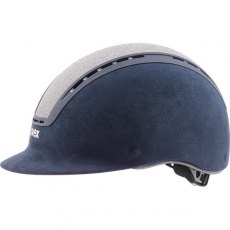 Uvex Suxxeed Glamour Riding Helmet Blue/Silver