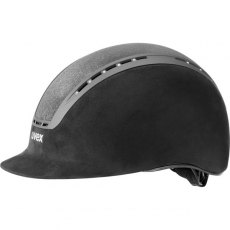 Uvex Suxxeed Glamour Riding Helmet Black