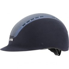 Uvex Suxxeed Glamour Riding Helmet Blue