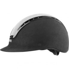 Uvex Suxxeed Glamour Riding Helmet Black/Silver