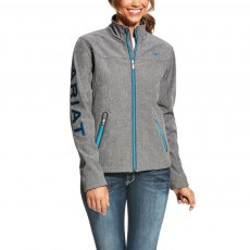 Ariat Women's New Team Softshell Jacket - Charcoal