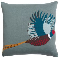 Sophie Allport Pheasant Knitted Statement Cushion