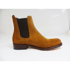 Spanish Jodhpur Boots suede: camel (leather sole)