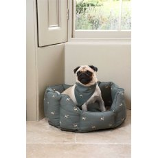Sophie Allport Small Pug Pet Bed