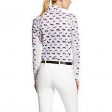 Ariat Women's Sunstopper Quarter Zip - Lavender Mist