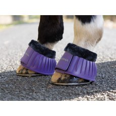 Shires Arma Fleece Topped Over Reach Boots
