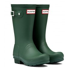 Hunter Original Kids Wellington Boots Green SALE!