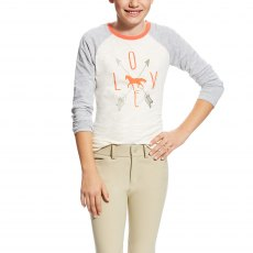 Ariat Kid's Cupid Tee White