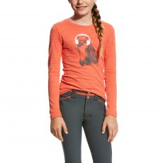 Ariat Kid's Mixer Tee Calypso Coral