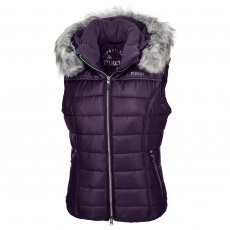 Pikeur Amica Quilted Gilet Dark Green