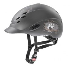 Uvex Onyxx Junior Riding Helmet Dekor Friends