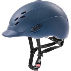 Uvex Onyxx Junior Riding Helmet Blue Mat