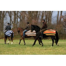 Horseware Rambo Fleece Competition Sheet-Whitney Chocolate