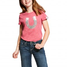 Ariat Kid's Sequin Shoe Tee