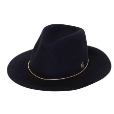 Annabel Brocks Bugsy Hat- Navy