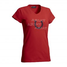 Ariat Puff Print Logo T-Shirt