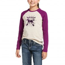 Ariat Kid's Dash Logo Tee