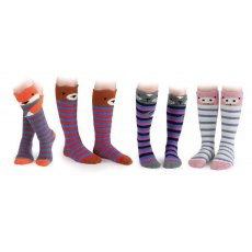 Shires Cosy Animal Socks