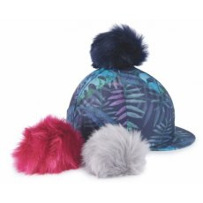Shires Switch It Pom Pom Hat Cover Tropical